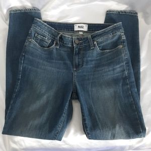 PAIGE Verdugo Ankle Distressed Jeans Size 28